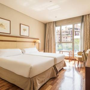 Corporate Single Room Hotel ILUNION Alcalá Norte Madrid